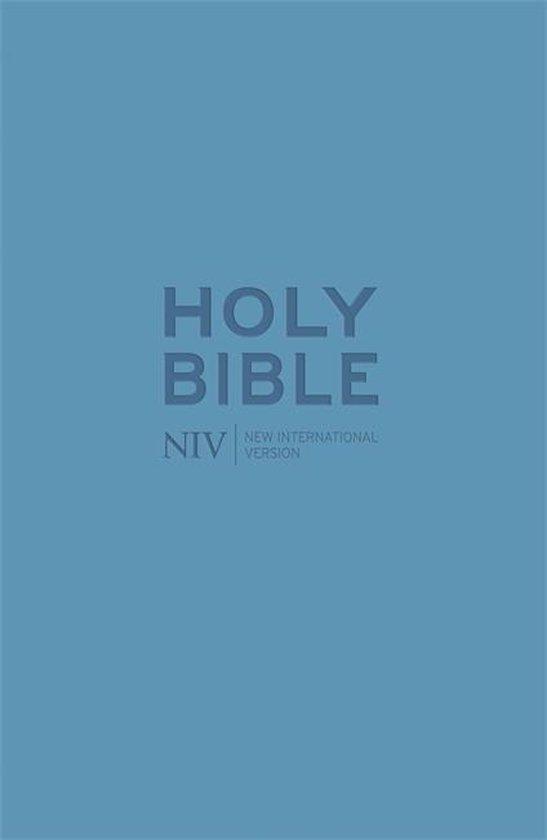 NIV Pocket Cyan Soft-tone Bible with Zip - Diverse auteurs   Fthsonline.com