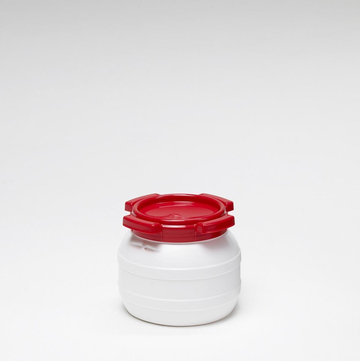 Waterkluisje 3,6 Liter - Water- En Luchtdicht - Wit/rood