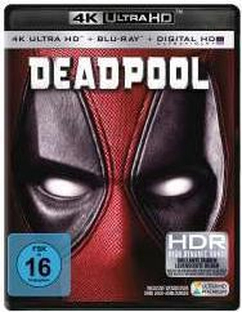 Deadpool (Ultra HD Blu-ray)-