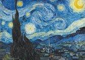 Vincent van Gogh Starry Night-De Sterrennacht luxe kunst poster 50x70cm.