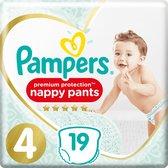 Pampers Premium Protection Pants Luierbroekjes - Maat 4 (9-15 kg) - 19 stuks