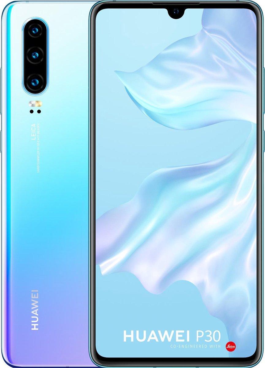 Huawei P30 – 128GB – Blauw (Breathing Crystal)