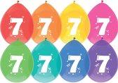 Ballonnen - 7 jaar - 8 stuks