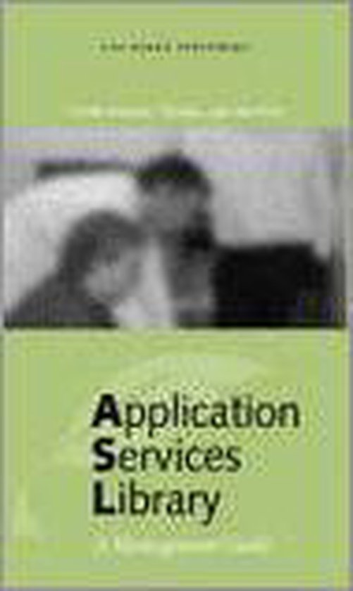 Application Services Library English version - Y. Backer |