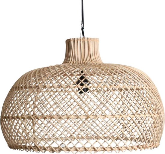Raw Materials Maze Lamp - Hanglamp - ⌀ 57 cm - Natuurlijk rotan