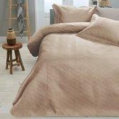 Sleeptime Wave - Bedsprei - 260x250 + 2 kussenslopen 60x70 - Zand