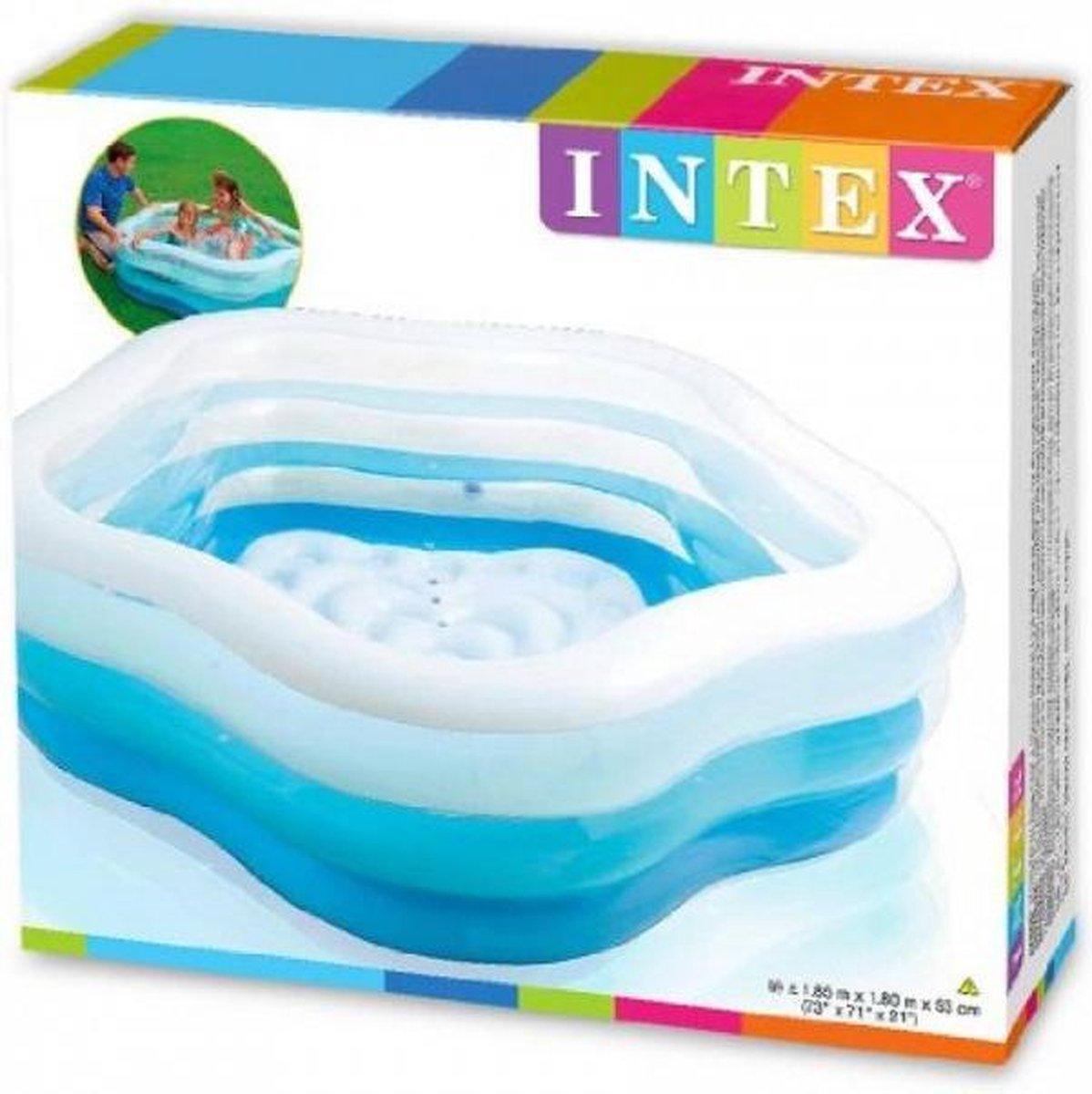 Intex Kinderzwembad Summer Colors - 180x185x53cm