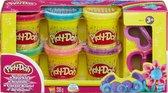 Play-Doh Glitter Klei - 6 Potjes