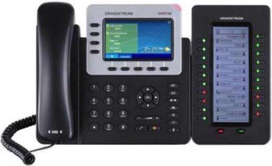 Grandstream Networks GXP-2140 - VoIP telefoon - Zwart