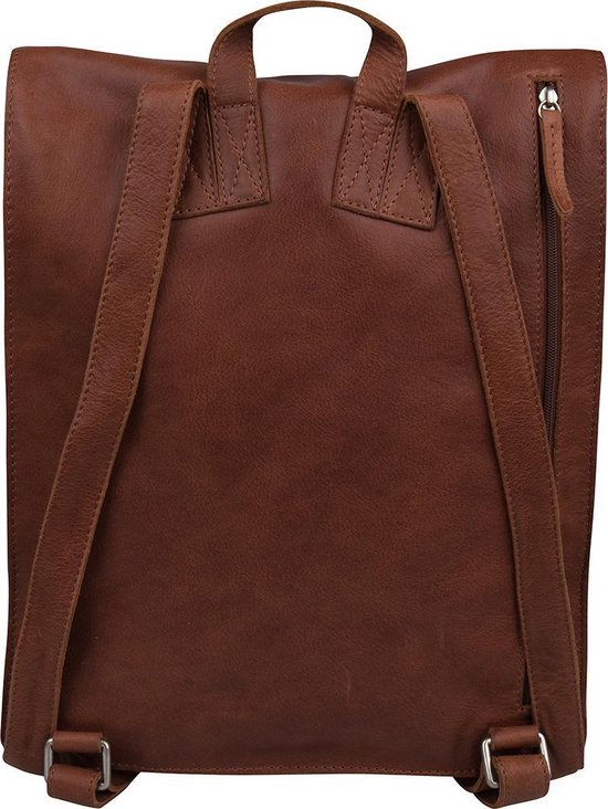Cowboysbag Laptoprugzak Hooked Leer - cognac