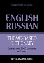 Theme-based dictionary British English-Russian - 9000 words