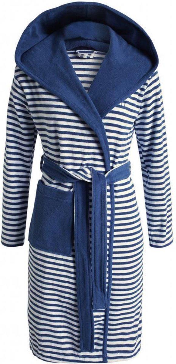 ESPRIT Striped Hoodie - badjas - S - Grijs - Esprit