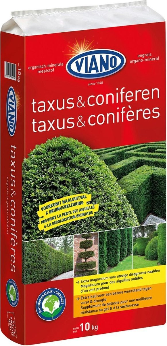 Viano Taxus & Coniferen hagen meststof 10 kg