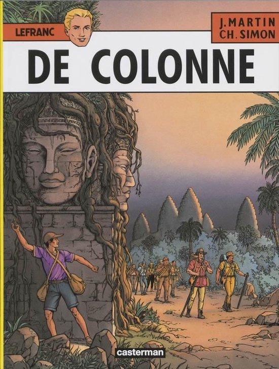 Lefranc 14. de colonne - Jacques Martin pdf epub