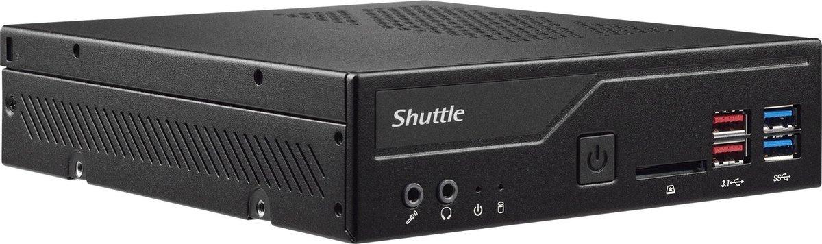 Shuttle XP? slim DH370 1,3L maat pc Zwart Intel® H370 LGA 1151 (Socket H4)