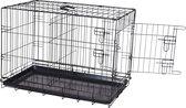 Adori Bench Divider Zwart - Los scheidingspaneel voor hondenbench - 48.5x 44.6 cm