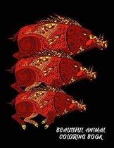 Beautiful Animal Coloring Book