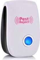 1 x Pest Reject - Ongediertebestrijder - Insectenverdrijver - Ongedierte - Ultrasoon -  Ultrasone Insectenbestrijding
