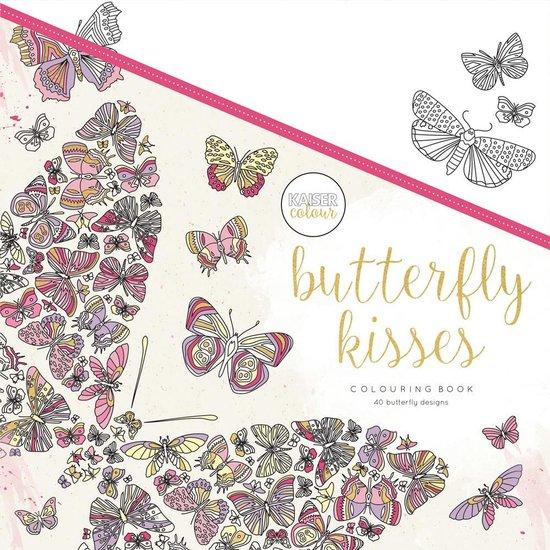 Kaisercraft Kleurboek voor Volwassenen Butterfly Kisses - Kaiser Craft |