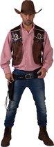Cowboy gilet - Wilde Westen kleding Country Stijl heren