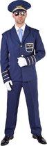 Piloot & Luchtvaart Kostuum | Luchtmacht Piloot Hercules | Man | XL | Carnaval kostuum | Verkleedkleding