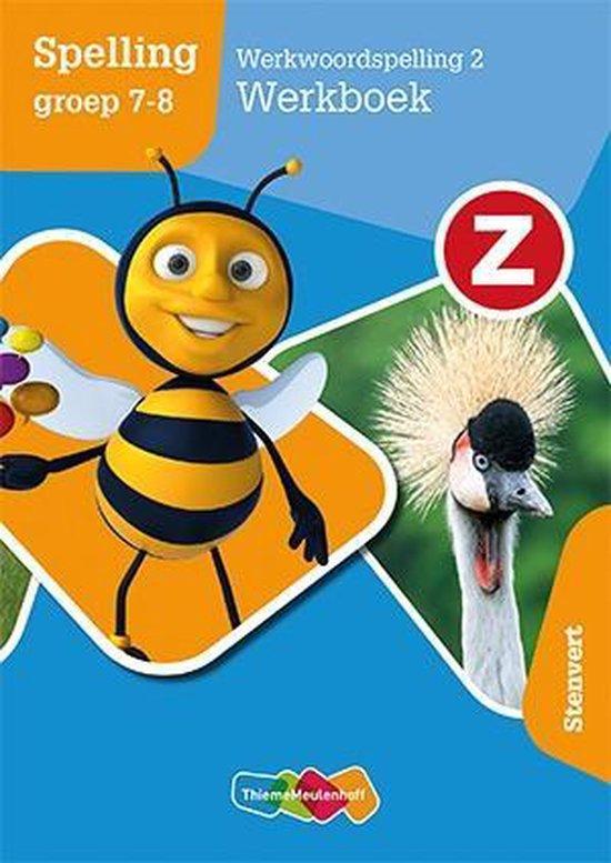 Boek cover Z-Spelling groep 7-8 Werkwoordspelling 2 Werkboek van Frank Pollet (Paperback)