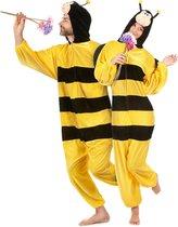 """""""Bijen pak met vleugels voor volwassenen  - Verkleedkleding - M/L"""" - Carnavalskleding"""