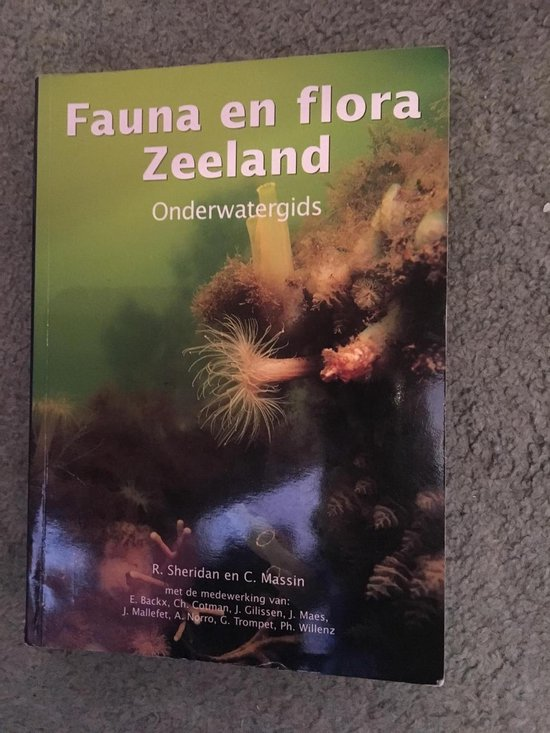 Fauna en flora Zeeland. Onderwatergids - C. Massin  
