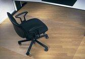 Rillstab stoelmat PC voor harde vloeren (80x120cm) - Transparant