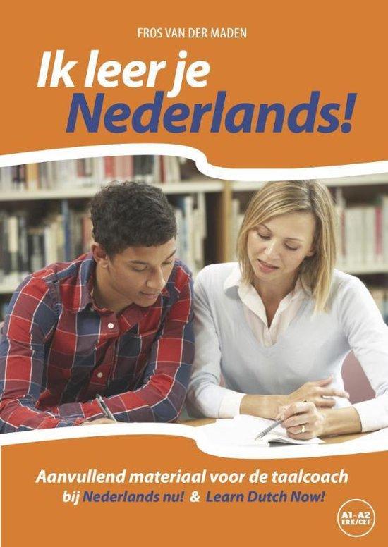 Ik leer je Nederlands! Niveau CEFR A1 - A2 - Fros van der Maden | Fthsonline.com
