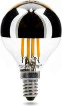 Groenovatie LED Filament G45 Kopspiegellamp - E14 Fitting - 4W - Extra Warm Wit - 78x45 mm - Dimbaar