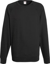 Fruit of the Loom sweater ronde hals maat M heren (licht grafiet)