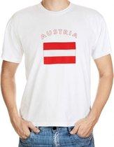 Austria t-shirt met vlag 2xl