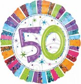 Folie ballon 50 jaar