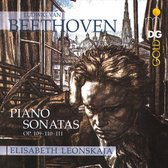 Piano Sonates Opus 109-111
