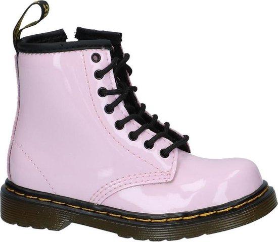 Dr. Martens Brooklee Meisjes Veterboots - Baby roze - Maat 26 - Dr. Martens