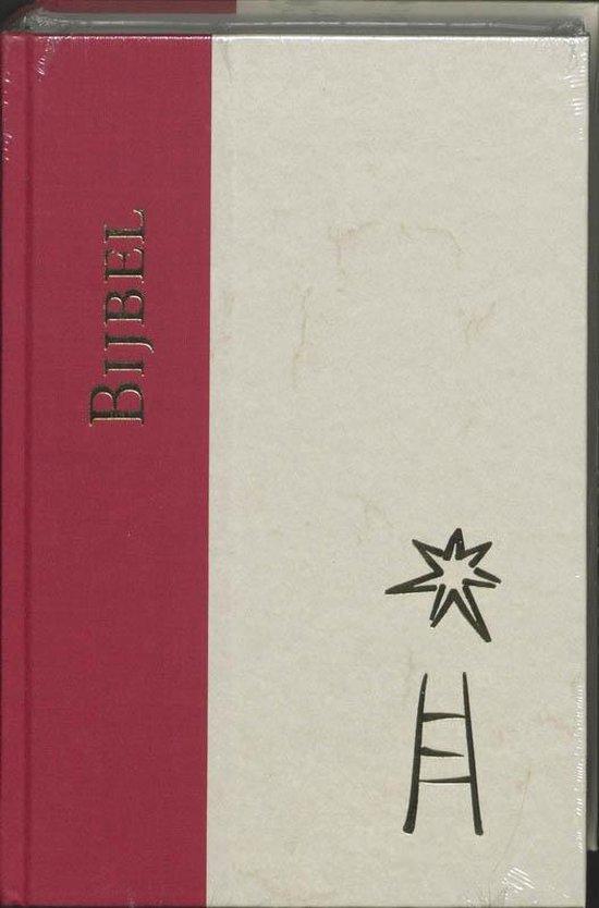 Bijbel Zonder deuterocanonieke boeken - Cm Rood/Beige 14X21 |