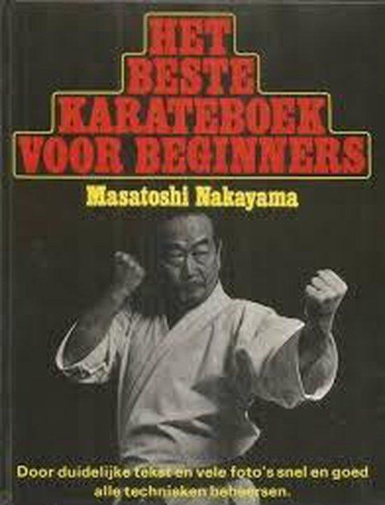Beste karateboek voor beginners - Nakayama  