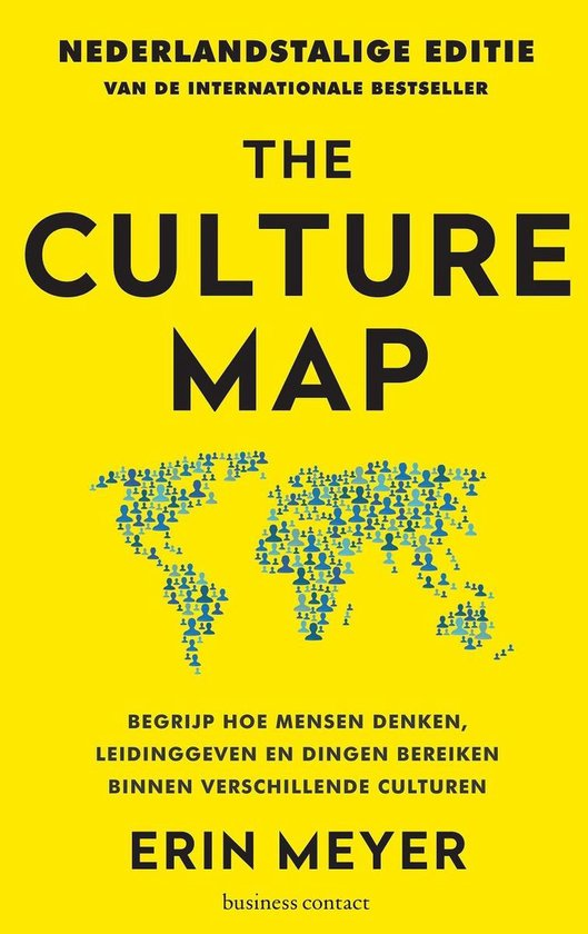Boek cover The Culture Map van Erin Meyer (Onbekend)