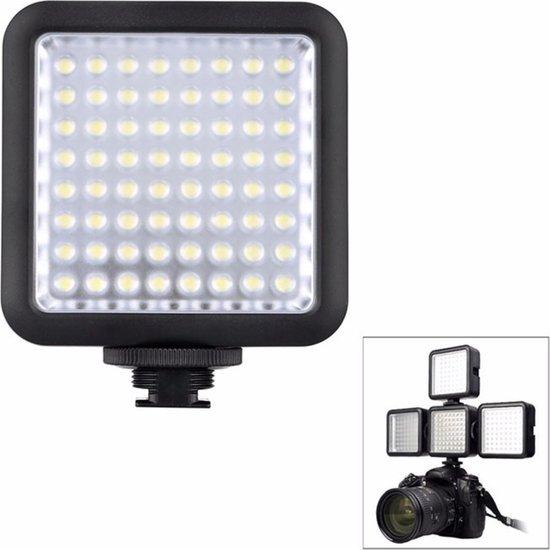 LED Camera Lamp geschikt voor diverse camera's