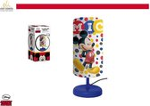 Disney - Mickey Mouse - Nachtlampje kinderen - Blauw - 29cm