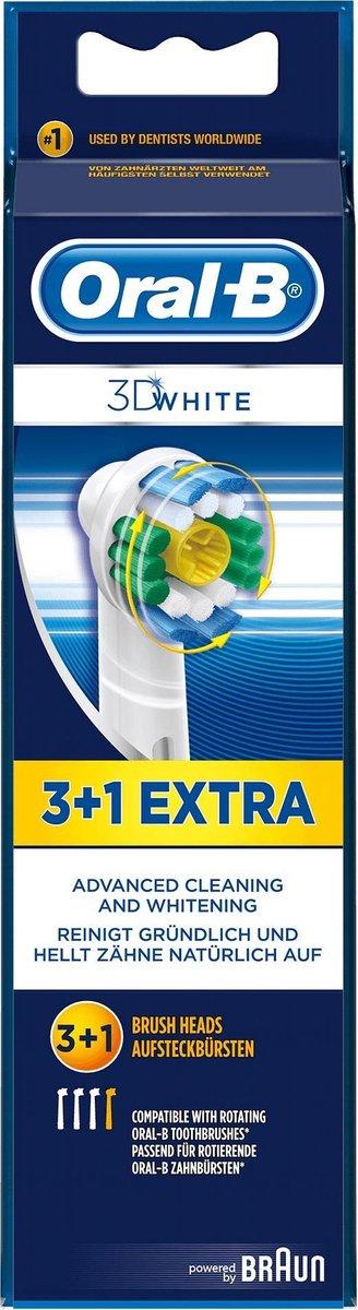 Oral-B PRO White & Clean opzetborstels x4 - Oral B