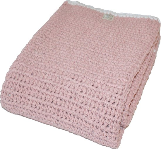 fair and cute - ledikantdeken - light pink - mamas 4 mamas