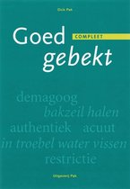 Boek cover Goed gebekt van D. Pak (Paperback)