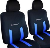 Dunlop autostoelhoezen set - Autostoelhoes - Stoelhoezen  6-delig - Blauw