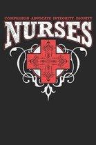 Compassion Advocate Integrity Dignity Nurses