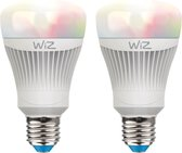 WiZ colours A E27 - 2-pack - 806lm - with WiZmote
