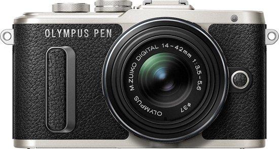 Olympus PEN E-PL8 + 14-42mm II R - Zwart