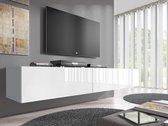 Meubella TV-Meubel  Flame - Wit - 200 cm (2x 100)