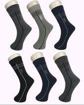 6 paar Dikke THERMO sokken 39-42